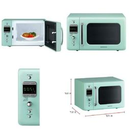 Daewoo KOR-7LREM Retro Countertop Microwave Oven 0.7 Cu. Ft.