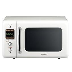 Daewoo KOR-7LREW Retro Countertop Microwave Oven 0.7 Cu. Ft,