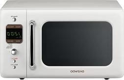 Daewoo KOR-7LREW Retro Countertop Microwave Oven 0.7 Cu. Ft