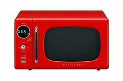 Daewoo KOR07R3ZER: 0.7 Cu. ft Microwave - Red