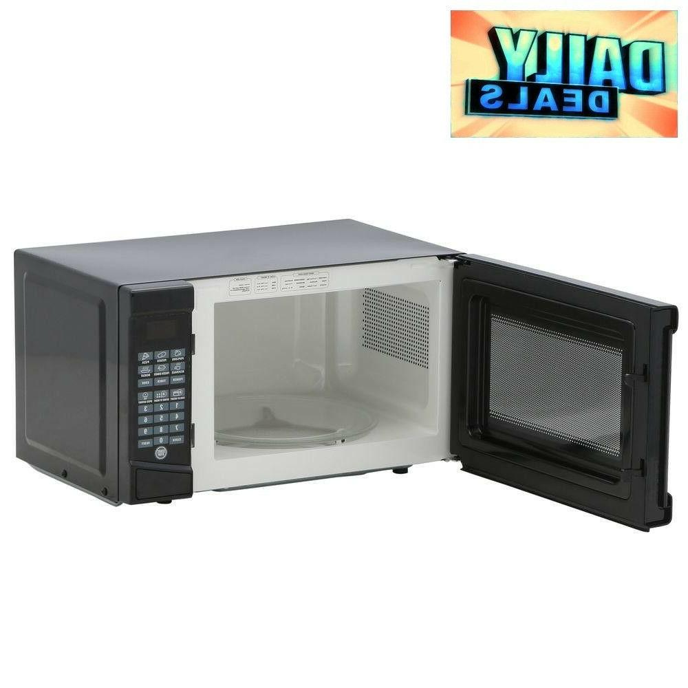 0 7 cu ft black microwave 700w