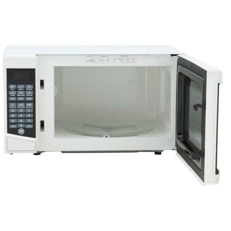 0.7 cu. ft. Microwave in White