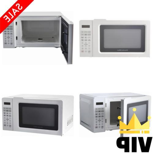 Proctor Silex 0 7 Cu Ft White Digital Microwave Oven