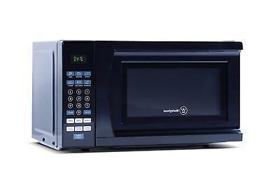 Westinghouse 0.7 Cubic 700 Watt Top Microwave Black
