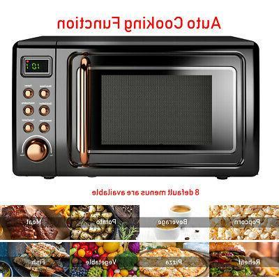 0.7Cu.ft 700W Microwave Glass