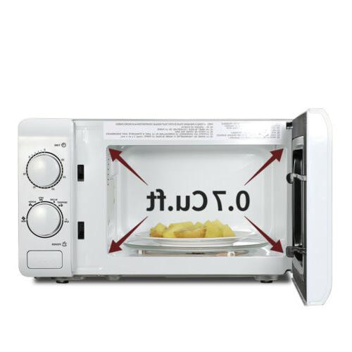 ZOKOP 0.7cuft Microwave Oven Kitchen Appliances White