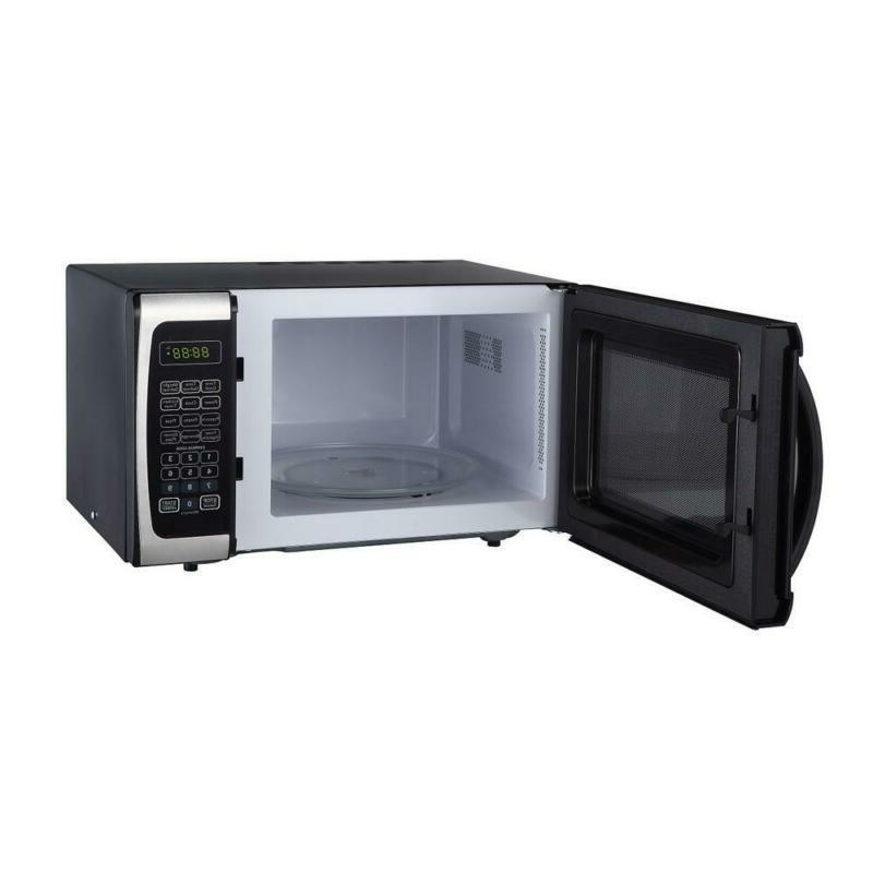 0.9 Countertop, Microwave Steel