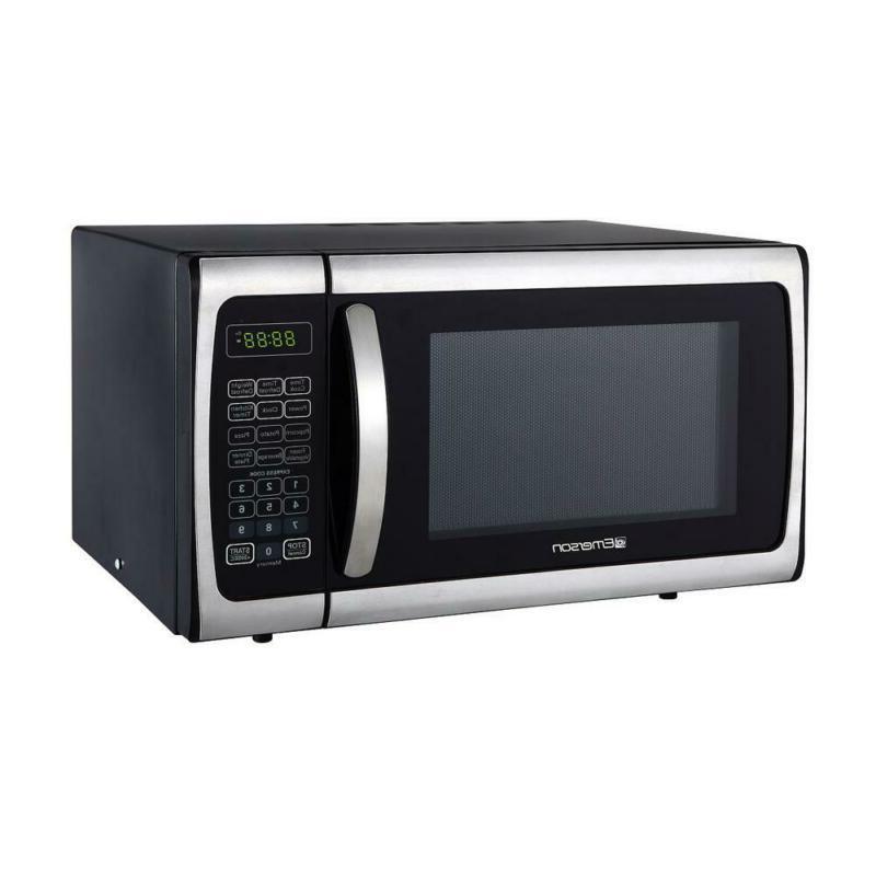 0.9 cu. Countertop, Microwave Oven, Steel