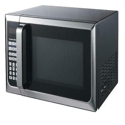 Hamilton Ft. Watt Steel Countertop Microwave