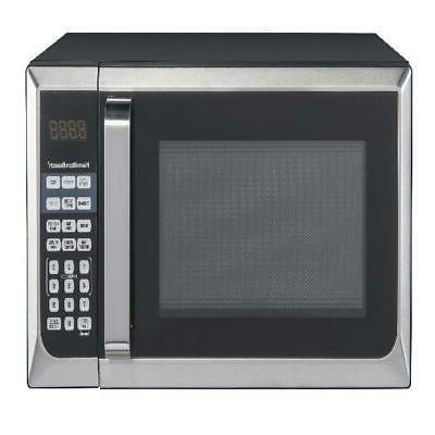 Digital Countertop Microwave Oven 0.9 Cu. Ft. Ten Power Leve