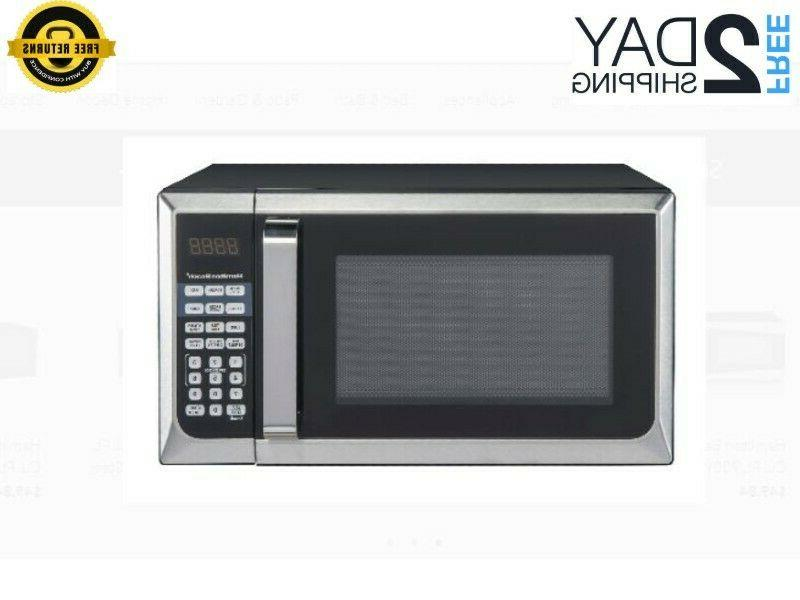 Hamilton Beach 0.9 Cu. Ft. Stainless Steel Microwave Oven Co