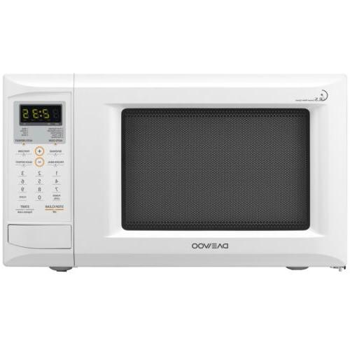 0 9 cu ft white countertop microwave