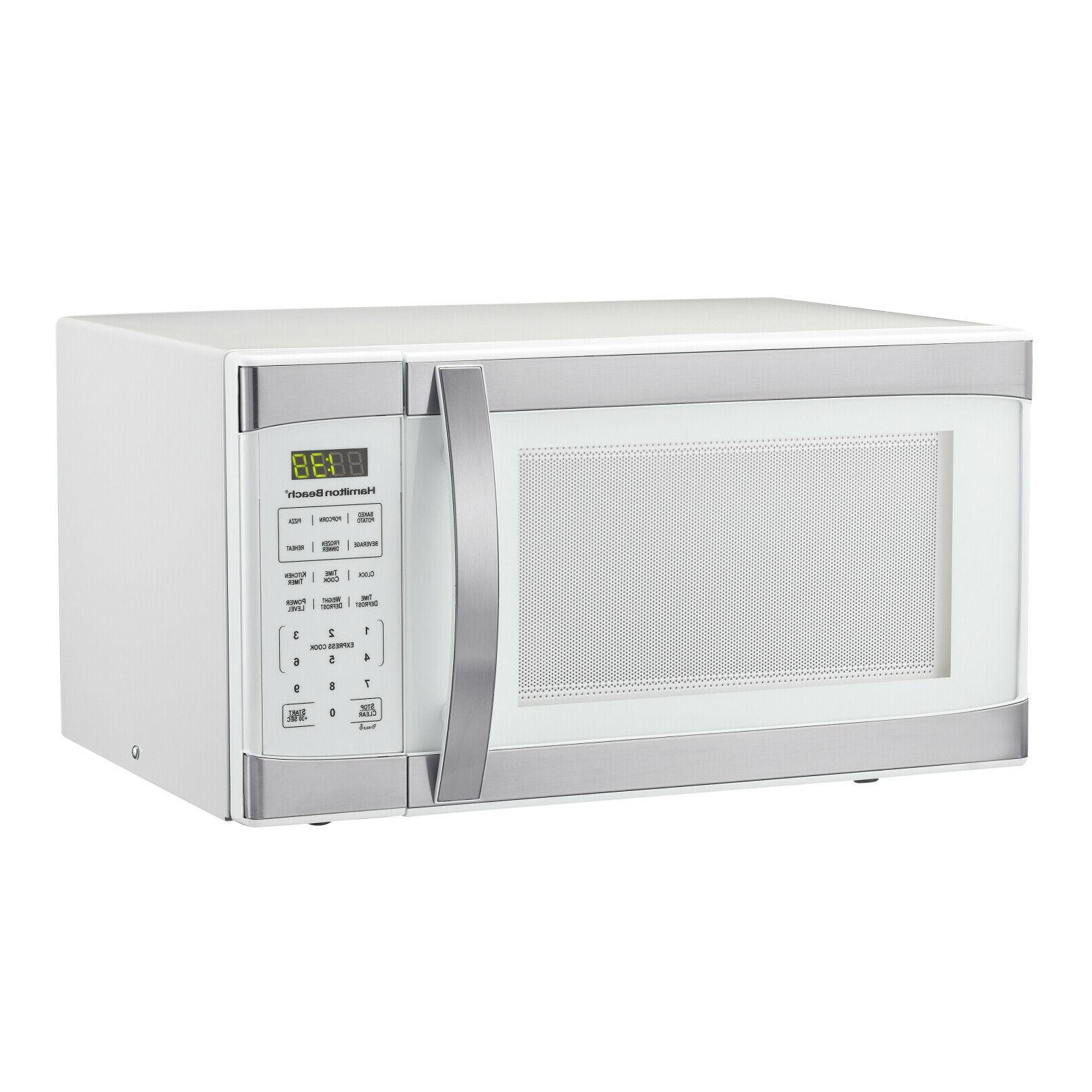 1 1 cu ft white with stainless