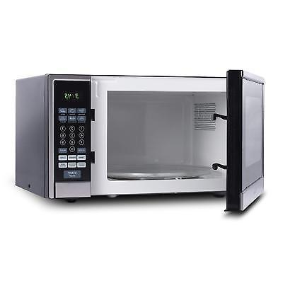 Westinghouse 1.1 Cubic 1000 Kitchen Counter Top Microwave Silver