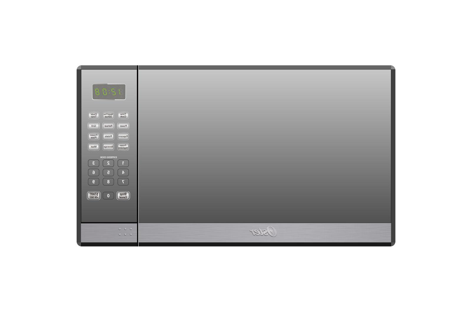 Oster Cu. Stainless Steel with Mirror Finish Microwave Grill