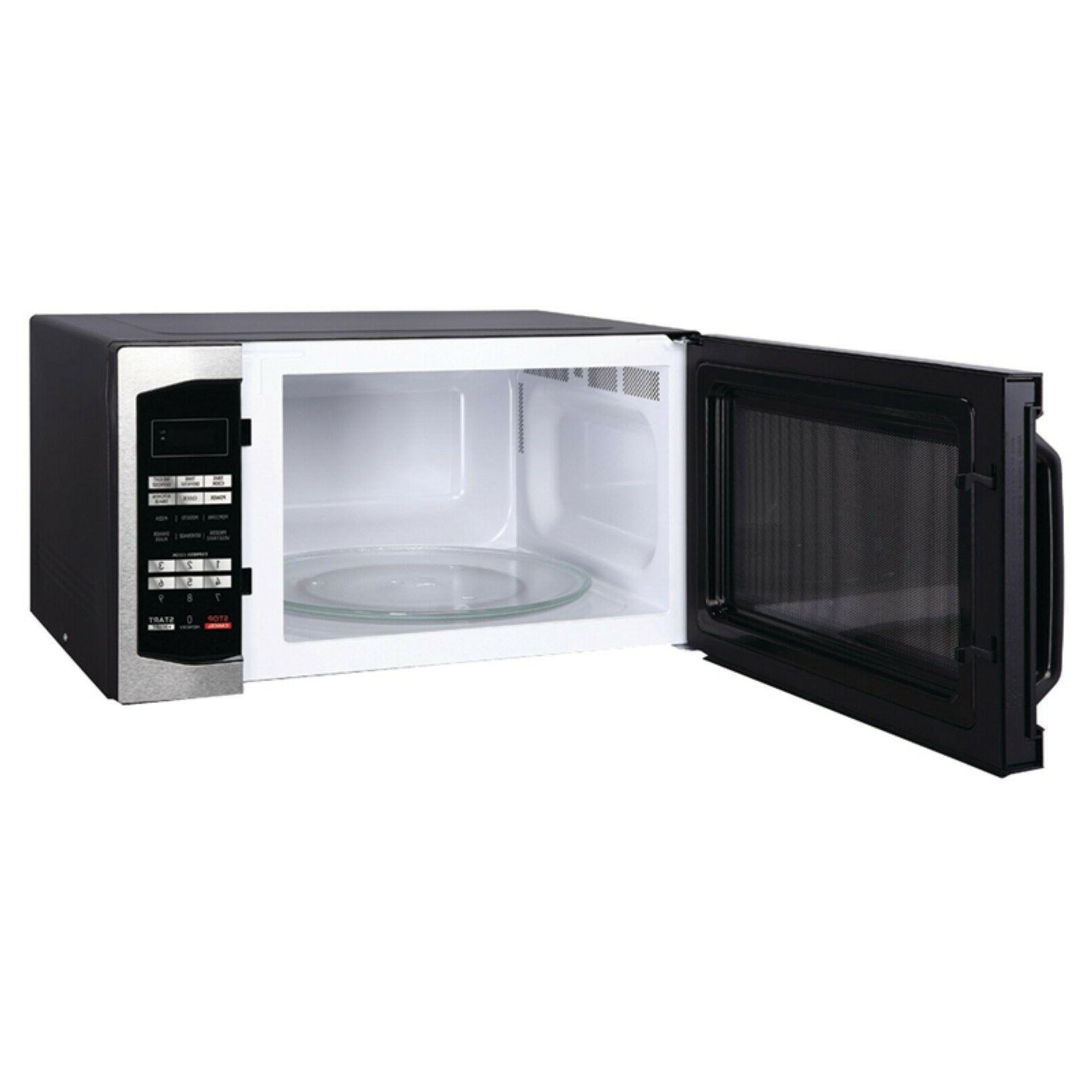 1 6 cu ft 1100w countertop microwave