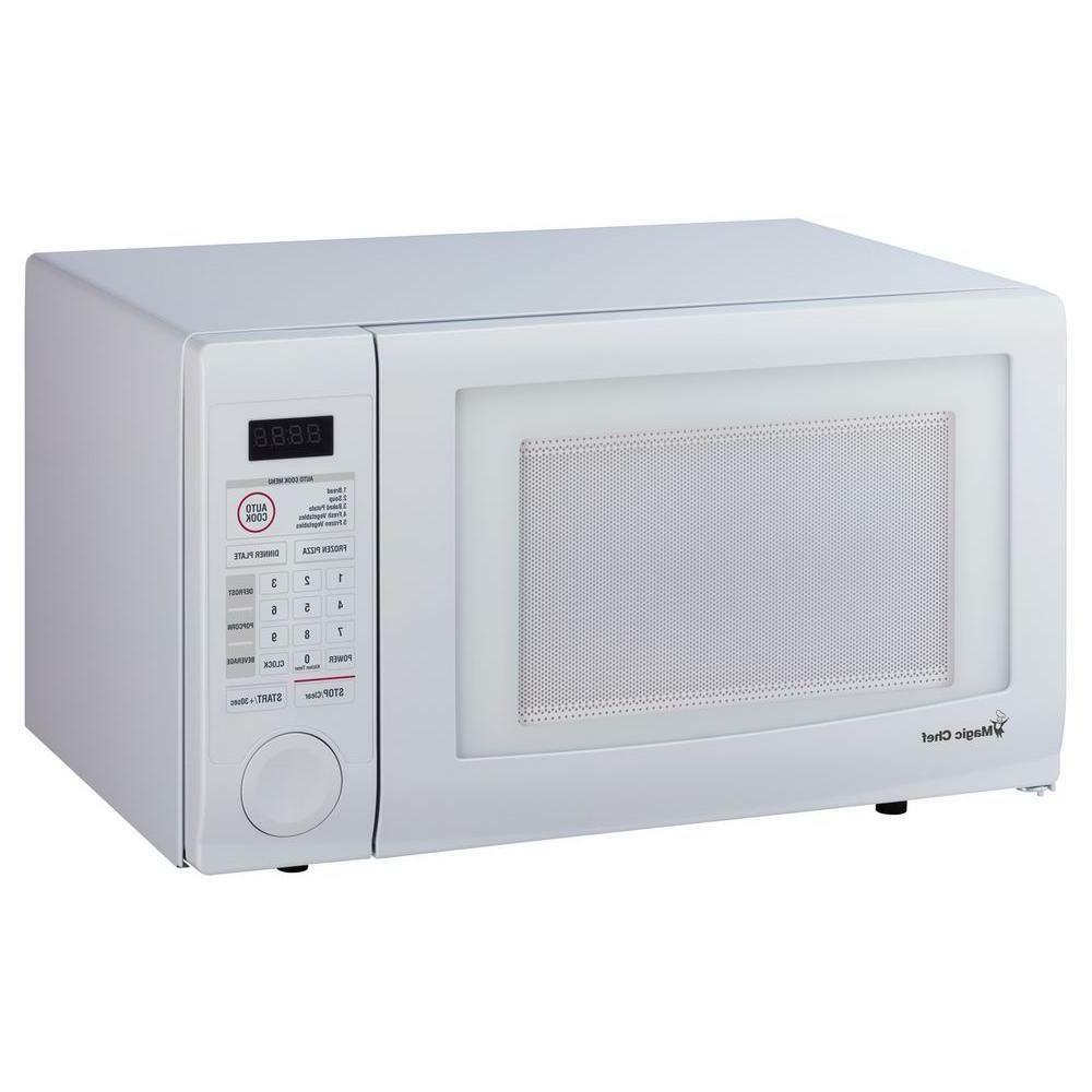 Magic Chef 1000 Watt 1.1 cu. ft. Countertop Microwave in Whi
