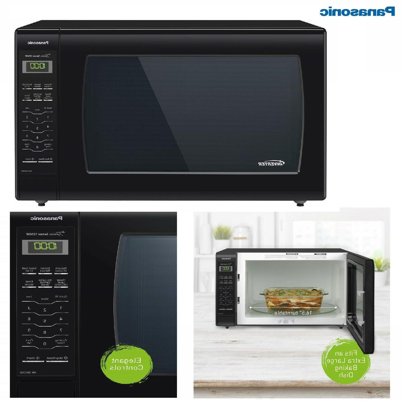 1250W NN-SN936B Panasonic Microwave Oven Countertop w cookin