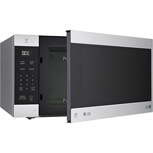 Lg 2 0 Cu Ft Neochef Countertop Microwave Stainless