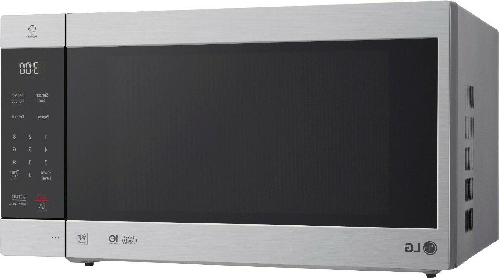 LG - 2.0 Ft. Stainless steel