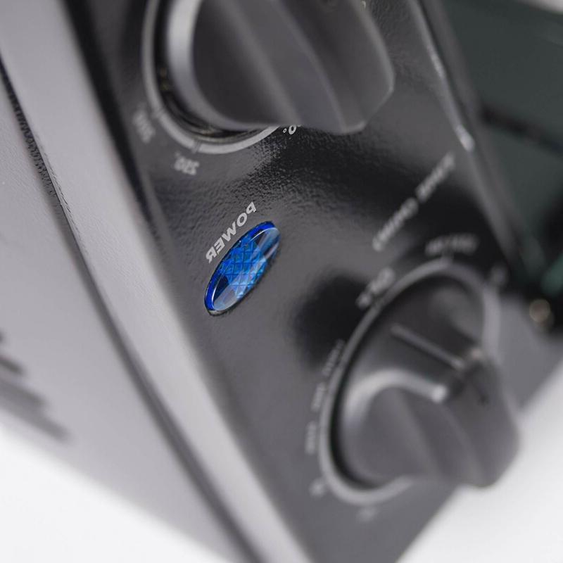 4 Slice Countertop Oven, Black