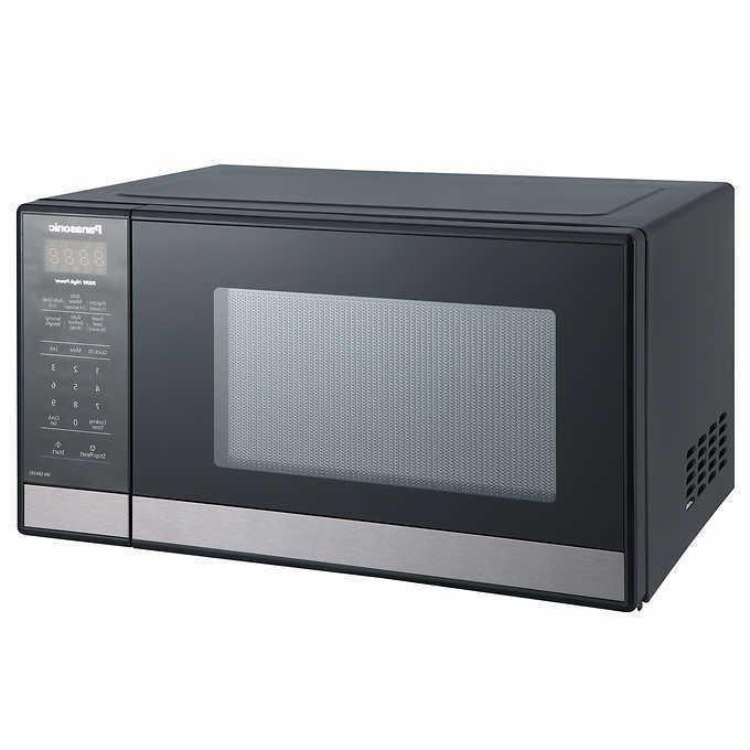 Panasonic NN-SB428S 0.9cu.ft. Microwave Oven - Black - Stain