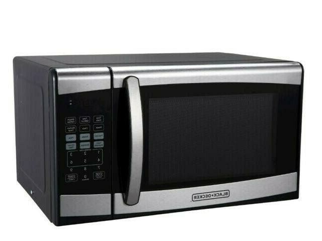 Black Decker Countertop Microwave 0 9 Cu Ft