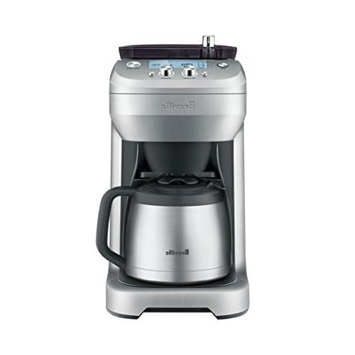 Breville BDC650BSS Grind Control Coffee Maker, Brushed Stain