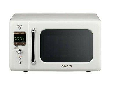 Daewoo Microwave 0.7 Ft., | White
