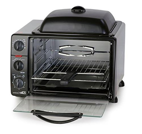 Elite Cuisine Ero 2008s Countertop Toaster Oven With Top