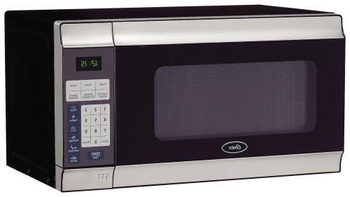 Oster - .7 Cubic-ft, 700-Watt Countertop Microwave