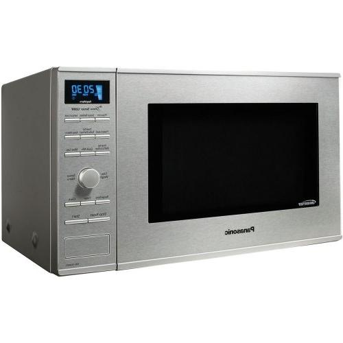 Panasonic Ft. Mid-size Microwave Stainless Steel