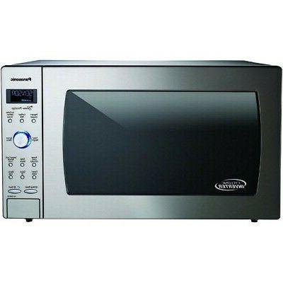 Panasonic Microwave Stainless Countertop/Built-In Wave with Inverter Technology and Sensor, 2.2 Cu. Ft,