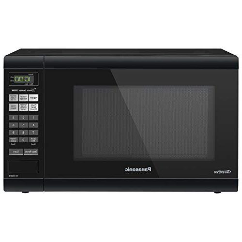 Panasonic Microwave Oven NN-SN651B Black Countertop with Inv