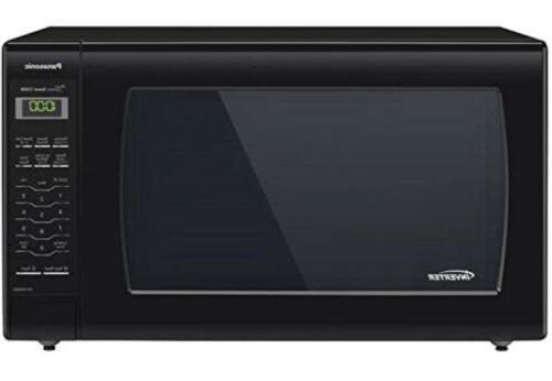 Panasonic Microwave Oven NN-SN936B Black Countertop with Inv