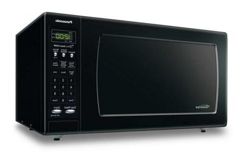 Panasonic NN-SN733BAZ Black 1.6 Cu. Ft. Countertop Microwave