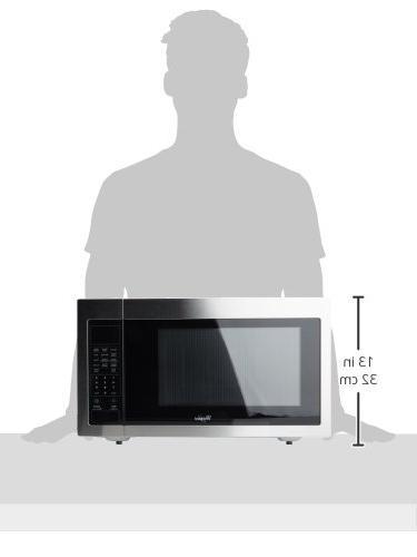 Whirlpool WMC30516AS 1.6 Cu. Ft. Steel Microwave