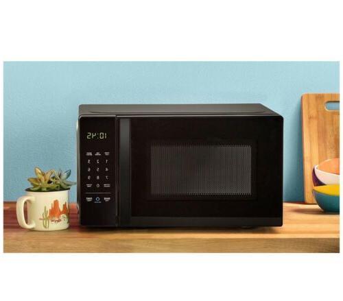 basics microwave small 0 7 cu ft