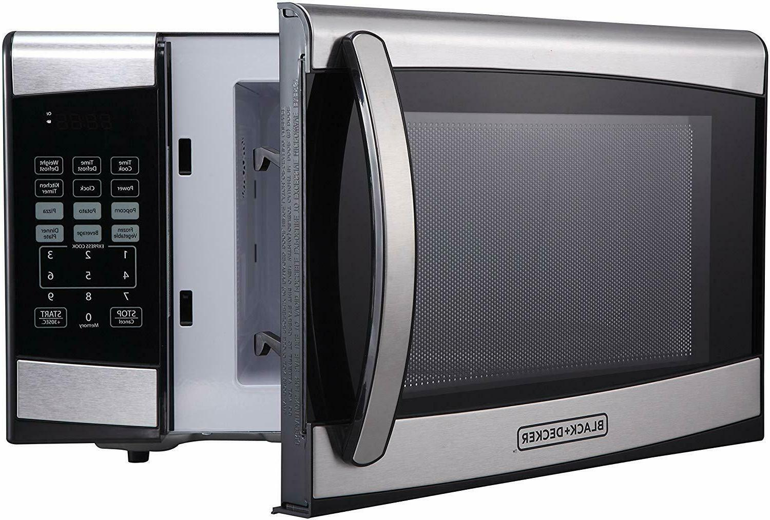 BLACK+DECKER 0.9 cu ft 900W Oven - Stainless