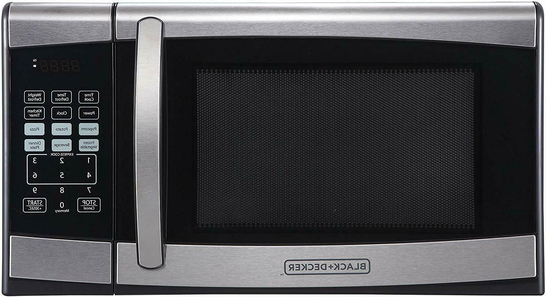 BLACK+DECKER 0.9 900W Microwave - Stainless