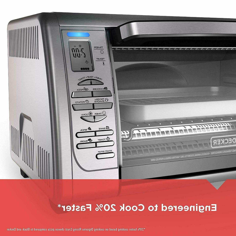 BLACK+DECKER Toaster Oven,