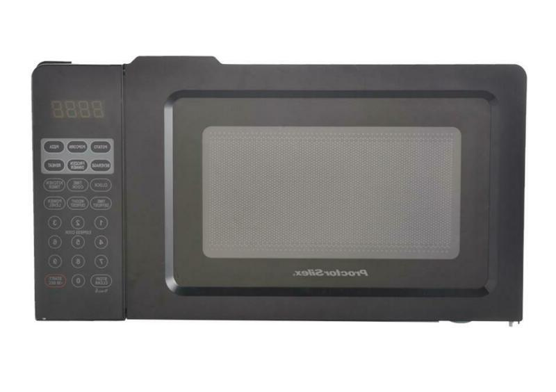Black Digital Oven Small Kitchen Appliance