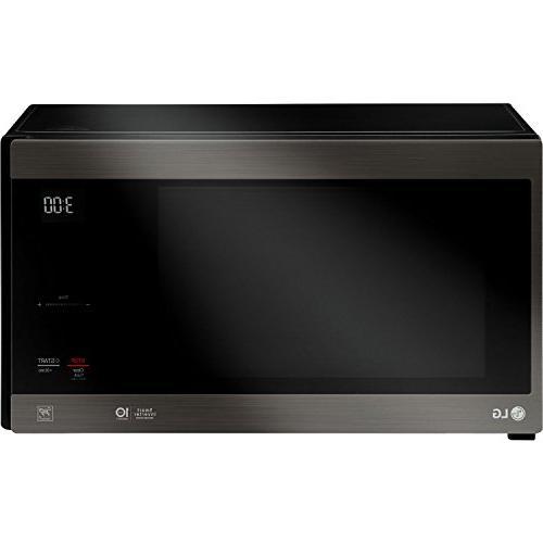 LG Black Stainless Series 1.5 cu. NeoChef™ Smart Inverter EasyClean