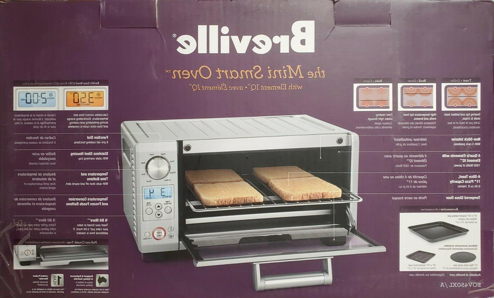 Breville BOV450XL Mini Oven Watt 4 Quartz NEW!