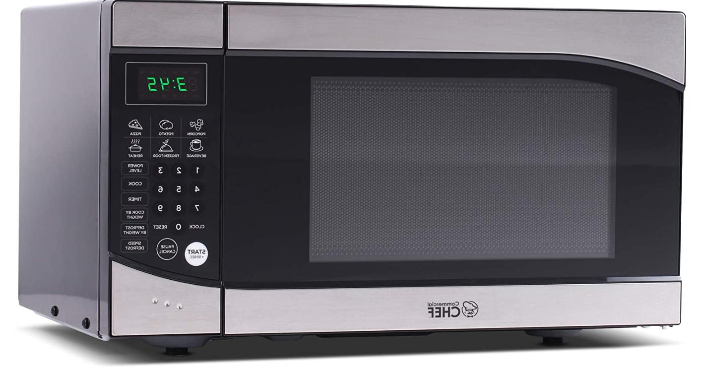 commercial chm009 countertop microwave oven 900 watt
