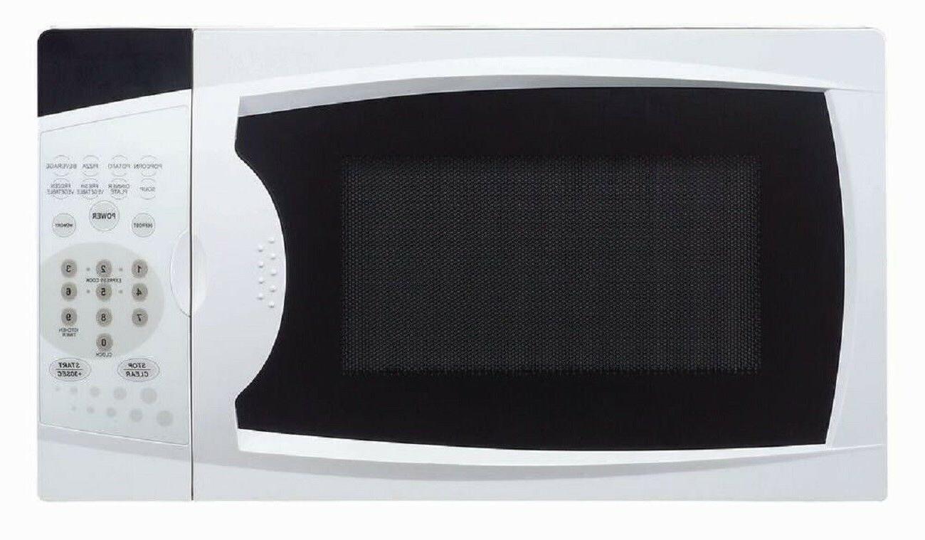 Compact Countertop Microwave Small Space Saving Tiny Living