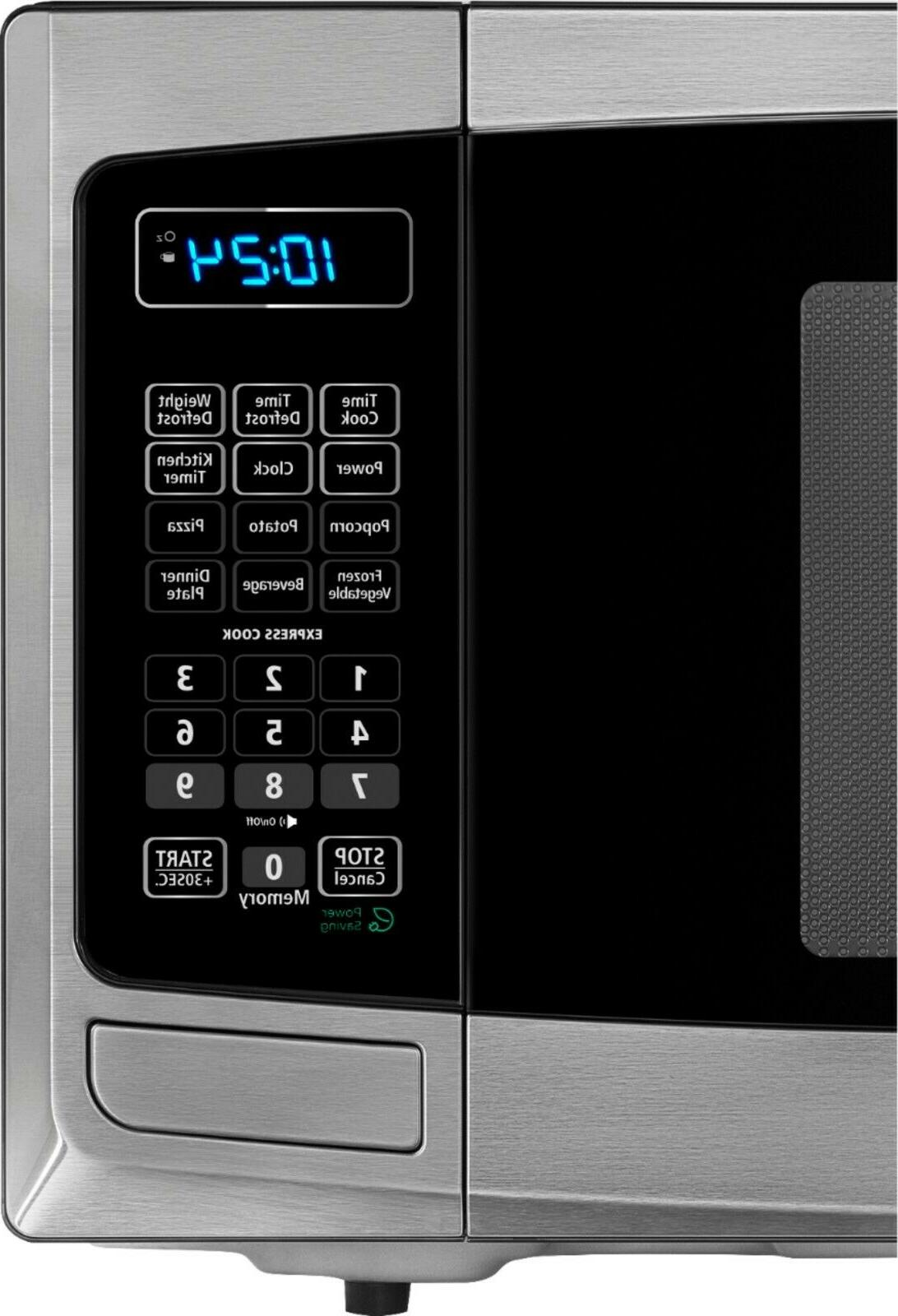 Compact Microwave Ft. Electronic Display