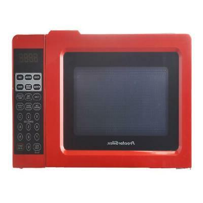 digital small kitchen countertop microwave oven 0