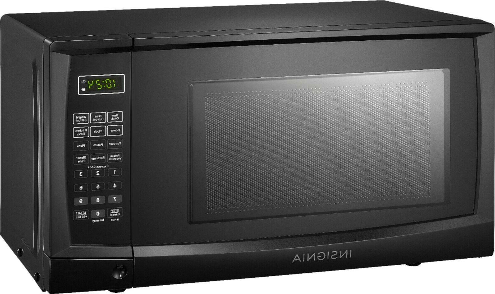 Microwave 0.7 Countertop Black Electronic Controls