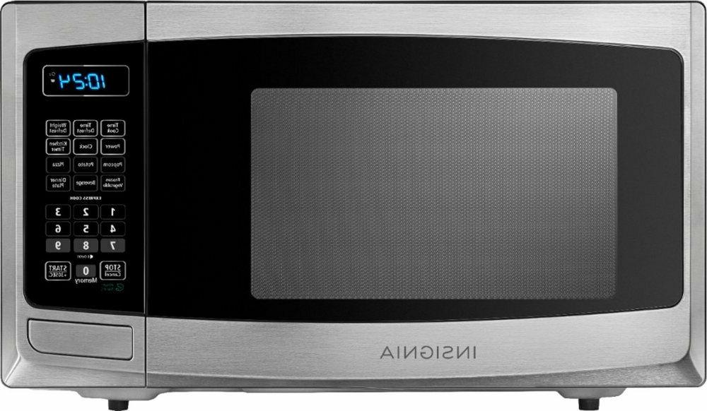 Compact Microwave Ft. Display 900W One-touch But